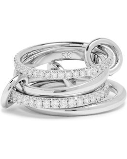 Polaris Diamond & White-gold Ring