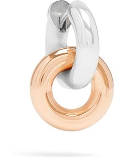 Janus Silver & Rose-gold Earrings