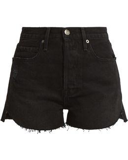 Le Original Tulip-hem Denim Shorts