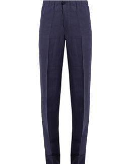Etere Wide-leg Linen Pyjama Trousers