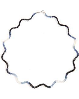 Twizzler Sapphire Necklace