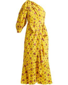 Jacquard Silk-blend Dress