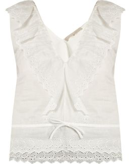 Giwette Broiderie-anglaise Cotton Top