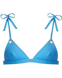 Grommet Triangle Bikini Top