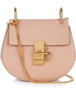 Drew Mini Leather Cross-body Bag