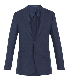 Single-breasted Notch-lapel Blazer