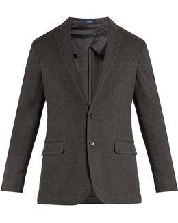 Single-breasted Stretch-cotton Jersey Blazer