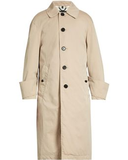 Tropical-gabardine Trench Coat