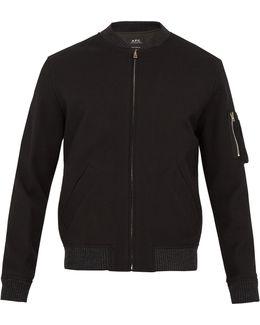 Félix Cotton Bomber Jacket