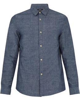 Hector Cotton-chambray Shirt