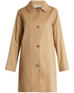 Dolly Cotton-blend Gabardine Coat