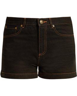 High Standard Denim Shorts