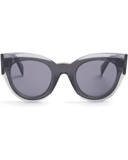 Petra Cat-eye Acetate Sunglasses