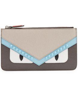Bag Bugs Saffiano-leather Cardholder