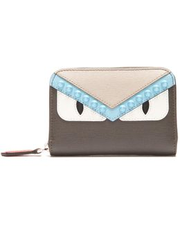 Bag Bugs Zip-around Leather Wallet
