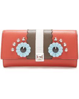 Hypnoteyes Embellished Leather Wallet