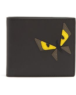 Butterfleye Bi-fold Leather Wallet