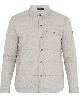 Quilted Cotton-blend Shirt