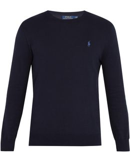Crew-neck Pima-cotton Sweater