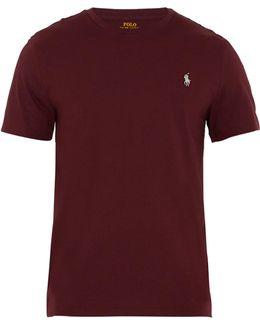 Crew-neck Cotton T-shirt