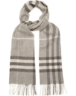 Classic House-check Cashmere Scarf