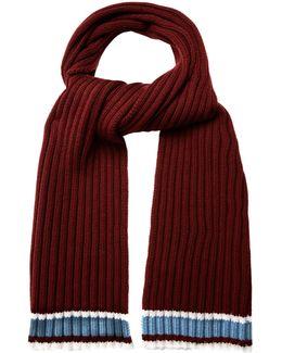 Tri-colour Wool Scarf