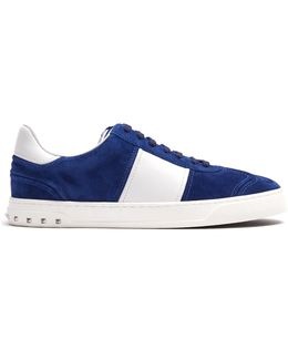 Fly Crew Low-top Suede Trainers