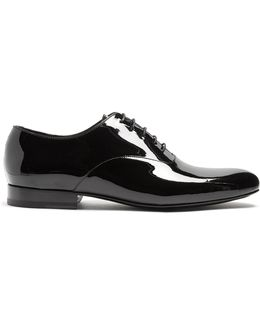 Patent-leather Oxford Shoes