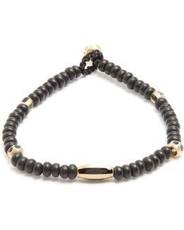 Bead, Enamel And Yellow-gold Bracelet
