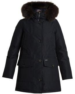 Gtx Fur-trimmed Down Parka