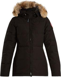 Chelsea Fur-trimmed Down Jacket