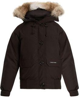 Chilliwack Fur-trimmed Down Bomber Jacket