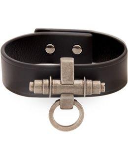 Obsedia Simple Leather Bracelet
