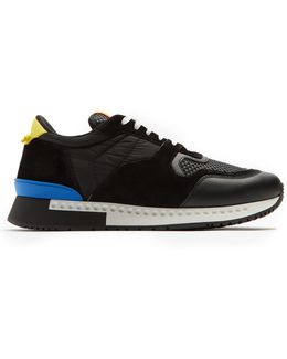 Runner Active Low-top Mesh And Suede Trainers