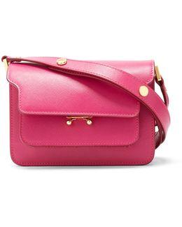 Trunk Mini Saffiano-leather Cross-body Bag