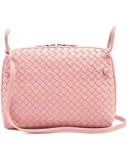 Nodini Small Intrecciato Leather Cross-body Bag