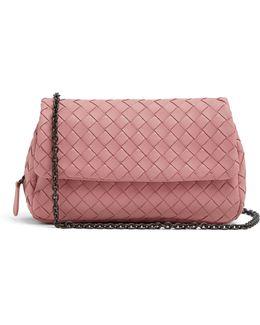 Intrecciato Mini Leather Cross-body Bag