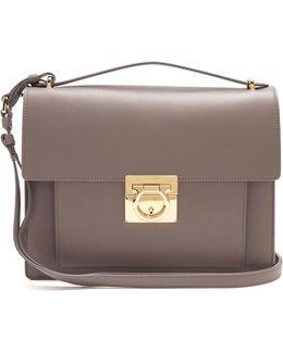 Marisol Rubin Leather Shoulder Bag