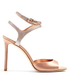 Helen 100mm Satin Sandals