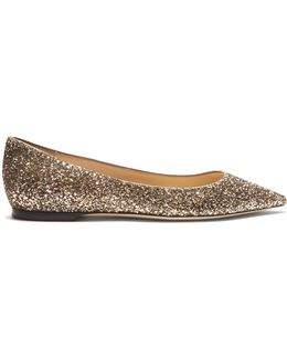 Romy Glitter Flats