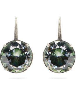 Sterling-silver Drop Earrings