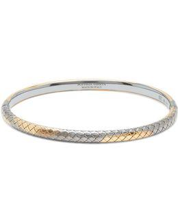 Intrecciato-engraved Bracelet