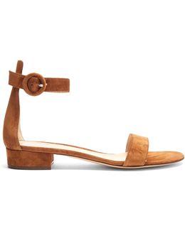 Portofino Block-heel Leather Sandals