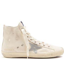 Francy High-top Canvas Trainers