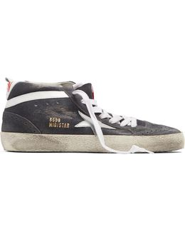 Midstar Mid-top Suede Trainers