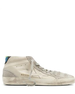 Midstar Leather And Suede Trainers
