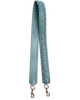 Rockstud Spike Quilted-leather Bag Strap