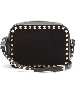 Rockstud Camera Leather Cross-body Bag