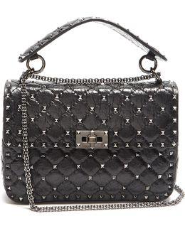 Rockstud Spike Medium Quilted-leather Shoulder Bag