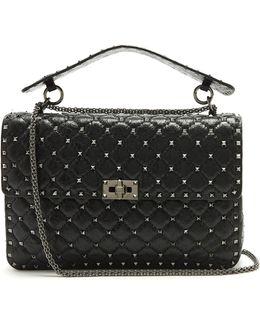 Rockstud Spike Large Quilted-leather Shoulder Bag
